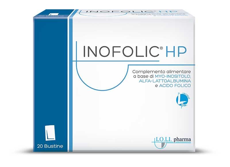 """Inofolic® HP è il primo complemento alimentare certificato """"Lactose Free"""""""